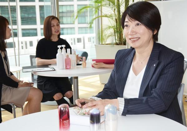 株式会社資生堂 日本事業本部 美容統括部長 松本聖子さん