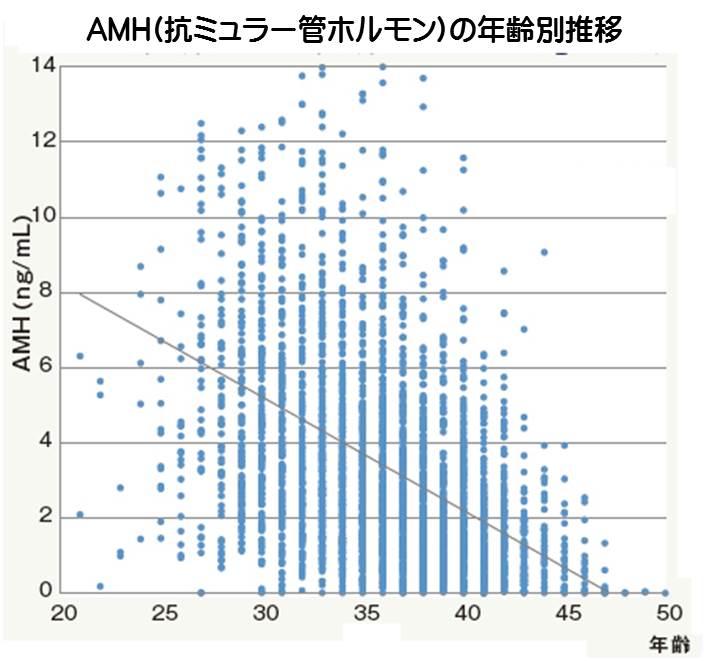 総コレステロール値とAMH